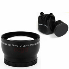 52mm 2x Telephoto Lens For Canon Rebel XT XTi XSi XS T1i T2i T3i Cameras 18-55mm