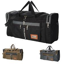 Mens extra large big sports gym holdall bag travel work cabin barrel bag