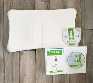 Nintendo Wii Balance Board Bundle - Wii Fit + Wii Fit Plus *Free Shipping
