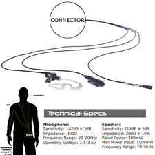 Impact K1-P3W-AT1 Platinum 3-Wire Earpiece for Kenwood TK TH + NexEdge Radios