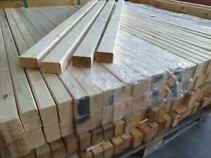 Holzbalken Konstruktionsholz 25St.28x45mm ca.52cm KVH Holzlatten Holz RESTPOSTEN