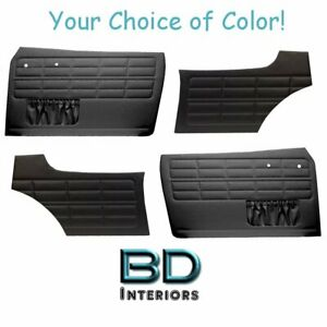Authentic Style Door Panels  W/ Pockets Fronts & Rears 1964-74 VW Ghia Any Color