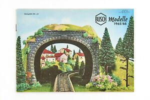 Lot 200805 Busch Modelle Katalog von 1965/1966