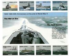 VINTAGE CLASSICS - Sierra Leone 1803 50th Anniversary WWII - Sheet Of 8 -MNH