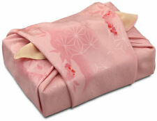 68cm Furoshiki Japan Silk Fabric Wrapping Cloth Double Sides Dyeing Gift for mom