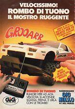 ▬►Pubblicità Advertising Werbung 1990 GIG NIKKO Rombo di Tuono