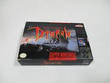BRAM STOKER'S DRACULA Super Nintendo SNES Authentic Box NO GAME CART!