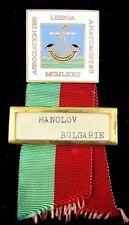 Association of Anatomists Conference Lisbon,Portugal 1972 Participant Badge