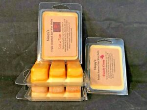 1 Ea TRICK or TREAT & CANDY CORN Triple Scented NOOPY'S Soy Wax Melts Tarts