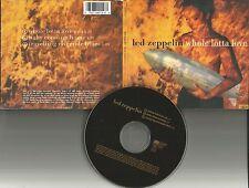 Robert Plant LED ZEPPELIN Whole Lotta Love RARE EDIT LIMITD CD single USA seller