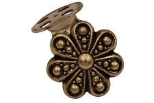 Encantadora oro Antik miederhaken tradicionalmente 14mm floración 1 pares (2 piezas)