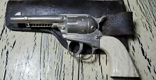 VINTAGE HALCO CAP GUN Die Cast Good Condition and Holster.
