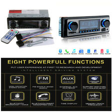 Digital 4-channel In-Dash Car MP3 Player Bluetooth Stereo Aux USB/SD/FM Radio