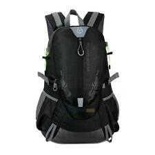 Men Outdoor Hiking Camping Waterproof Nylon Travel Luggage Rucksack Backpack Bag