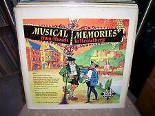 MUSICAL MEMORIES FROM GERMANY, Polka Music, German Import, Telefunken # 6571