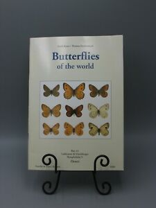 2000 BUTTERFLIES OF THE WORLD PART 11 E BAUER T FRANKENBACH ILLUSTRATED MS3451