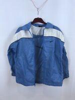 Sky Blue Nike Athletic Jacket Women's Medium