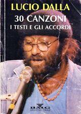 LUCIO DALLA 30 CANZONI I TESTI E GLI ACCORDI BMG EDITORIALE (QA951)