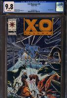 CGC 9.8 1993 X-O Manowar #15 First Print Valiant Comics Turok