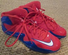 Nike Zoom Merciless Blue/Red Football Cleats Shoes Size 13.5 #548529-604 Giants
