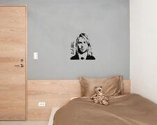 Kurt Cobain Nirvana Lead Singer Music Song Wall Door Art Decal Sticker Picture