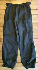 COLUMBIA Pants Women's large CARGO Snow Ski Hiking RAIN WATER REPELLANT Black