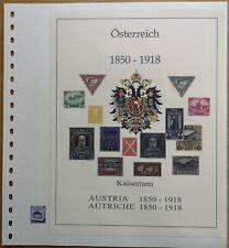 Österreich 1850-1918 Vordruck farbig TOP Bilder in Beschr.
