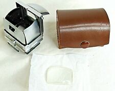 Ihagee Camera View Finder Dresden Germany Leather Case Lens Vintage
