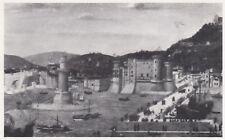 D4301 Napoli - Il porto nella tavola Strozzi (1400) - Stampa - 1942 old print