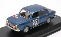 Model Car Rally Scale 1:43 Best Model Simca Abarth 1150 Rallye diecast