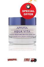 Apivita Aqua Vita 50ml* ADVANCED MOISTURE REVITALIZING CREAM* VERY DRY SKIN