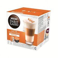 Nescafé Dolce Gusto Caramel Latte Macchiato, 16 Capsules (8 Servings)