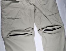 Tilley Canada Mens Zip-Off Pants Shorts 42x29 Outdoor Fishing Hiking Safari EUC