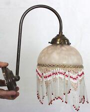 Lampe métal et verre rétro - Luminaire