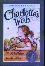 Charlotte's Web/Stuart Little Slipcase Gift Set (Anglais) coffret