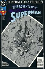 Funeral for a Friend/1 the Adventures of Superman World Without A Superman 498