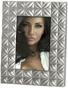 Photo Frame Metal Silver 10 x 15 cm ZEP Apollonia Brand New