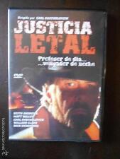 DVD JUSTICIA LETAL - CARL BARTHOLOMEW - COMO NUEVA (4J)