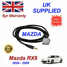 Mazda RX8 AUX 3.5mm Input Audio cable High Quality Sound model year 04-08