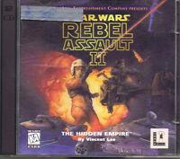 Star Wars: Rebel Assault II - The Hidden Empire (PC, 1995, LucasArts)