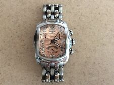 Men's Or Women's Invicta Lupah Solid Stainless Steel Copper Face Mint Condition