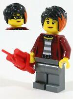RARE LEGO CITY ADVENTURES DAISY KABOOM MINIFIGURE 60246 DYNOMITE CROOK