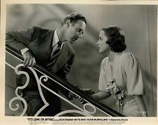 Olivia De Havilland Leslie Howard It's Love I'm After Original 8x10  Photo #J420