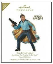 2010 Hallmark Star Wars ESB Lando Calrissian Limited Quantity Ornament!