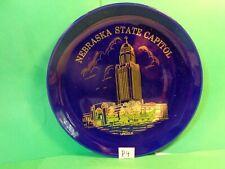 "Lincoln Nebraska State Capitol 8 1/8"" Souvenir Plate/DART Henderson NE(Used/EUC)"