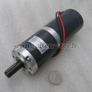 GX50 - 50mm Planetary Gear Motor DC12/24V 15-270RPM High Torque Motor for Robot
