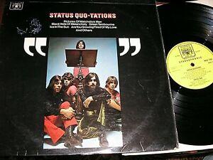 STATUS QUO    -    Status Quo-Tations,     RARE ORIGINAL 1969 UK LP / inner