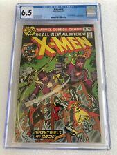 uncanny x-men 98 CGC 6.5 Newsstand wht pgs