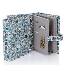 The Little Little Book of Earrings jewellery storage organiser floral, travel