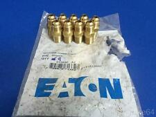 EATON 48X5X4 5/16 O.D. 1/4 THREAD 45° FLARE MALE CONNECTORS, LOT OF 9,NEW IN BAG